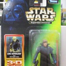 Figuras y Muñecos Star Wars: LUKE SKYWALKER EXPANDED UNIVERSE STAR WARS NUEVO SIN ABRIR. Lote 122458487