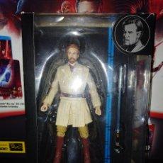 Figuras y Muñecos Star Wars: STAR WARS BLACK SERIES 6',OBI-WAN KENOBI, LA VENGANZA DE LOS SITH, EN CAJA (ABIERTA) - HASBRO - 2014. Lote 122618039