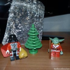 Figuras y Muñecos Star Wars: STAR WARS NAVIDAD LEGO COMPATIBLE.VADER,YODA Y ARBOL.. Lote 122733867