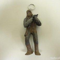 Figuras y Muñecos Star Wars: 918- LLAVERO STAR WARS CHEWBACCA 9.5 CMS SIMBA NUEVO VIEJO STOCK. Lote 122851403
