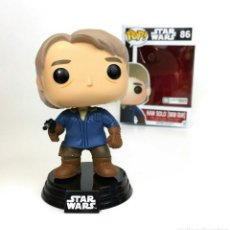 Figuras y Muñecos Star Wars: FIGURA FUNKO POP HAN SOLO SNOW GEAR STAR WARS EPISODIO VII. Lote 123294247
