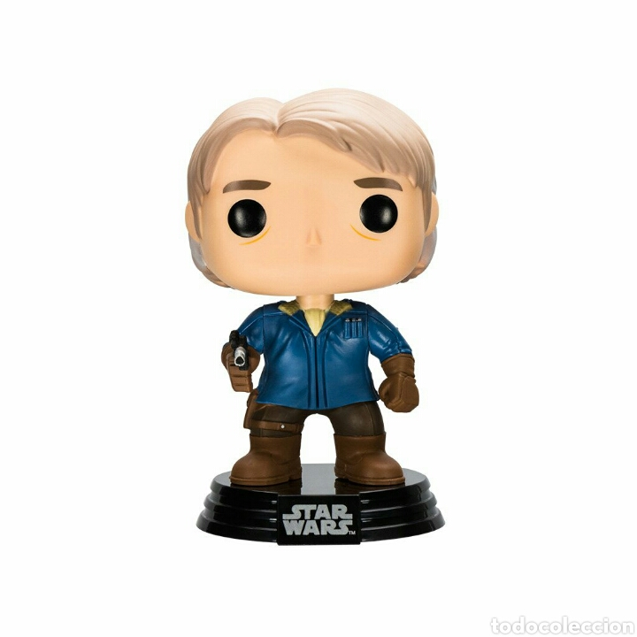 Figuras y Muñecos Star Wars: Figura Funko Pop Han Solo snow gear Star Wars episodio VII - Foto 2 - 123294247