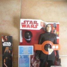 Figuras y Muñecos Star Wars: FIGURA KYLO REN STAR WARS, HASBRO, INTERACCION + EXTRA. Lote 123385371