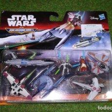 Figuras y Muñecos Star Wars: MICROMACHINES - STAR WARS - EMBOSCADA DEL EJERCITO DROIDE - MICRO MACHINES DISNEY HASBRO. Lote 123736631