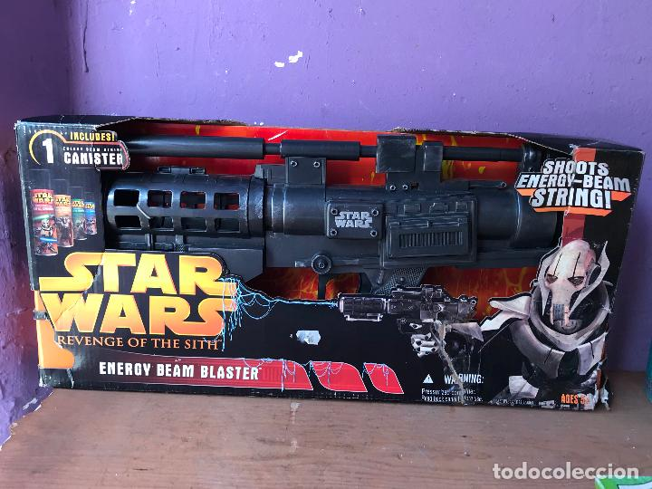 Figuras y Muñecos Star Wars: STAR WARS GENERAL GREVIOUS ENERGY BEAM BLASTER - IDEAL COSPLAY - Foto 1 - 123859823