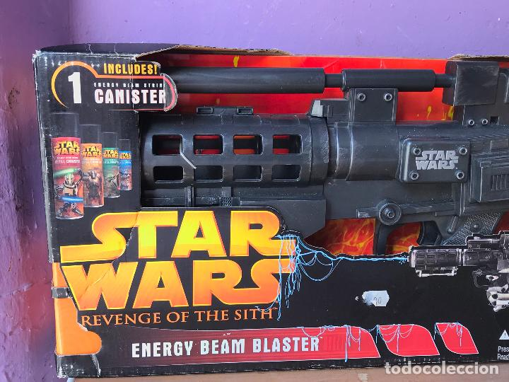 Figuras y Muñecos Star Wars: STAR WARS GENERAL GREVIOUS ENERGY BEAM BLASTER - IDEAL COSPLAY - Foto 2 - 123859823