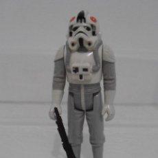 Figuras y Muñecos Star Wars: FIGURA STAR WARS, KENNER VINTAGE, AT-AT DRIVER PILOTO ARMA ORIGINAL, EL IMPERIO CONTRAATACA, C-8. Lote 124219063