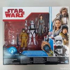 Figuras y Muñecos Star Wars: STAR WARS. PACK JEDI. REY. STORMTROPER. ROSE. Lote 124682436