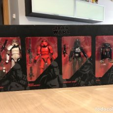 Figuras y Muñecos Star Wars: SET 4 FIGURAS STAR WARS THE BLACK SERIES HASBRO B4007 NUEVO. Lote 124989511
