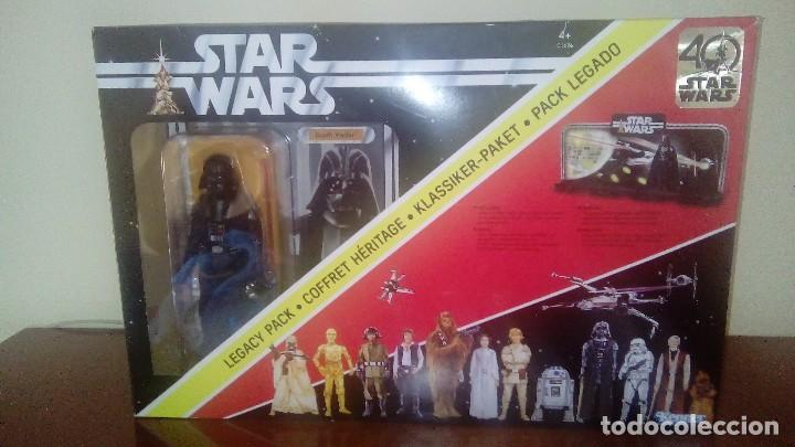 Figuras y Muñecos Star Wars: STAR WARS KENNER DARTH VADER 40 ANIVERSARIO PACK LEGADO - Foto 2 - 125027299