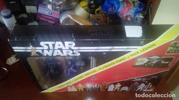 Figuras y Muñecos Star Wars: STAR WARS KENNER DARTH VADER 40 ANIVERSARIO PACK LEGADO - Foto 4 - 125027299