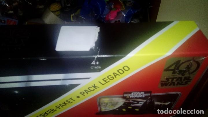 Figuras y Muñecos Star Wars: STAR WARS KENNER DARTH VADER 40 ANIVERSARIO PACK LEGADO - Foto 5 - 125027299
