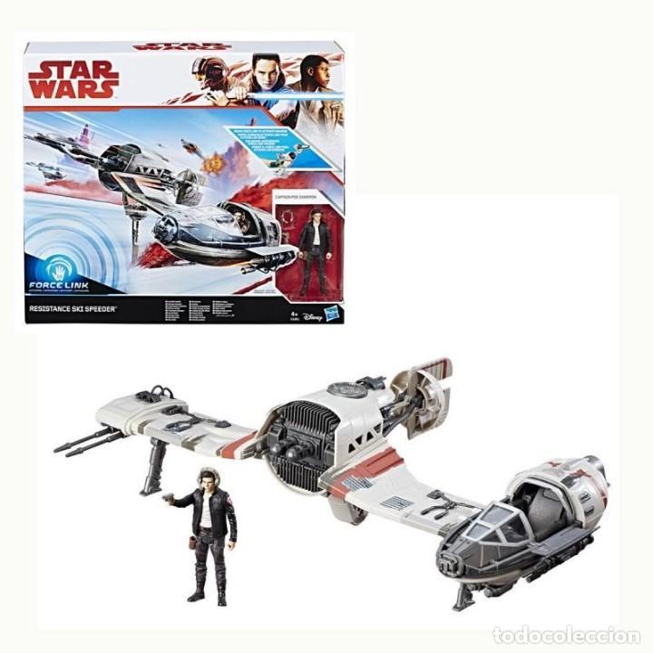 CI 12 STAR WARS HASBRO - RESISTANCE SKI SPEEDER (Juguetes - Figuras de Acción - Star Wars)