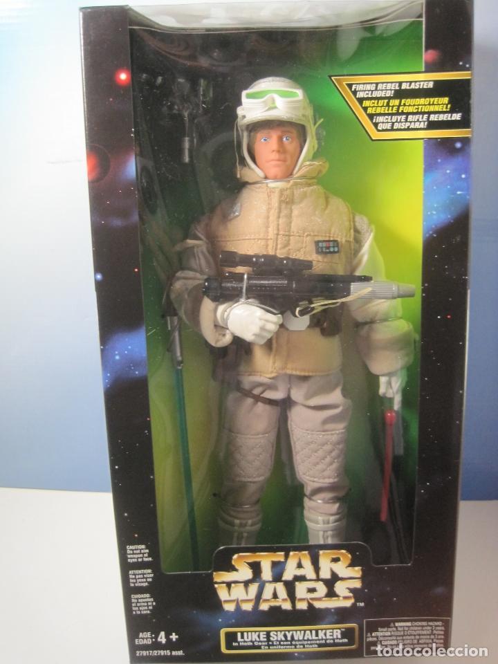 STAR WARS FIGURA DE LUKE SKYWALKER DE 12 PULGADAS (33 CM.) DE COLECCION HASBRO DE 1997 (Juguetes - Figuras de Acción - Star Wars)