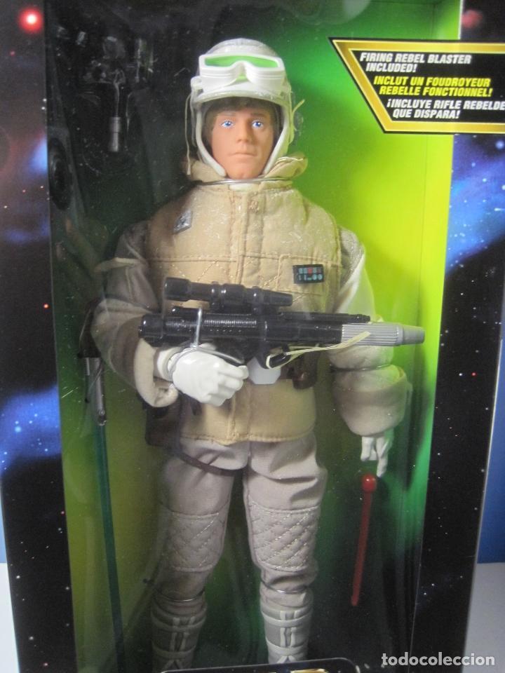 Figuras y Muñecos Star Wars: STAR WARS FIGURA DE LUKE SKYWALKER DE 12 PULGADAS (33 CM.) DE COLECCION HASBRO DE 1997 - Foto 4 - 151657037