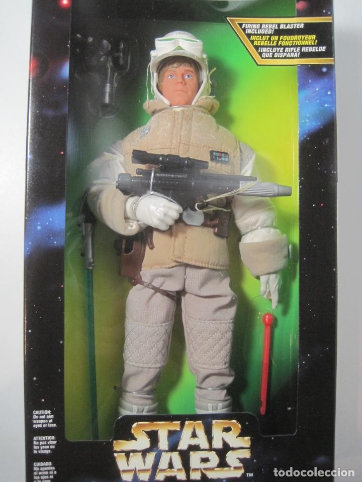 Figuras y Muñecos Star Wars: STAR WARS FIGURA DE LUKE SKYWALKER DE 12 PULGADAS (33 CM.) DE COLECCION HASBRO DE 1997 - Foto 6 - 151657037