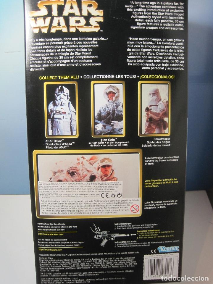 Figuras y Muñecos Star Wars: STAR WARS FIGURA DE LUKE SKYWALKER DE 12 PULGADAS (33 CM.) DE COLECCION HASBRO DE 1997 - Foto 9 - 151657037