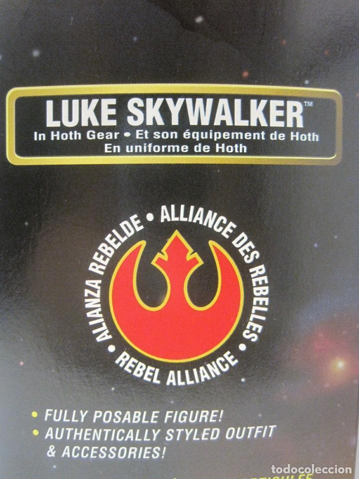 Figuras y Muñecos Star Wars: STAR WARS FIGURA DE LUKE SKYWALKER DE 12 PULGADAS (33 CM.) DE COLECCION HASBRO DE 1997 - Foto 11 - 151657037