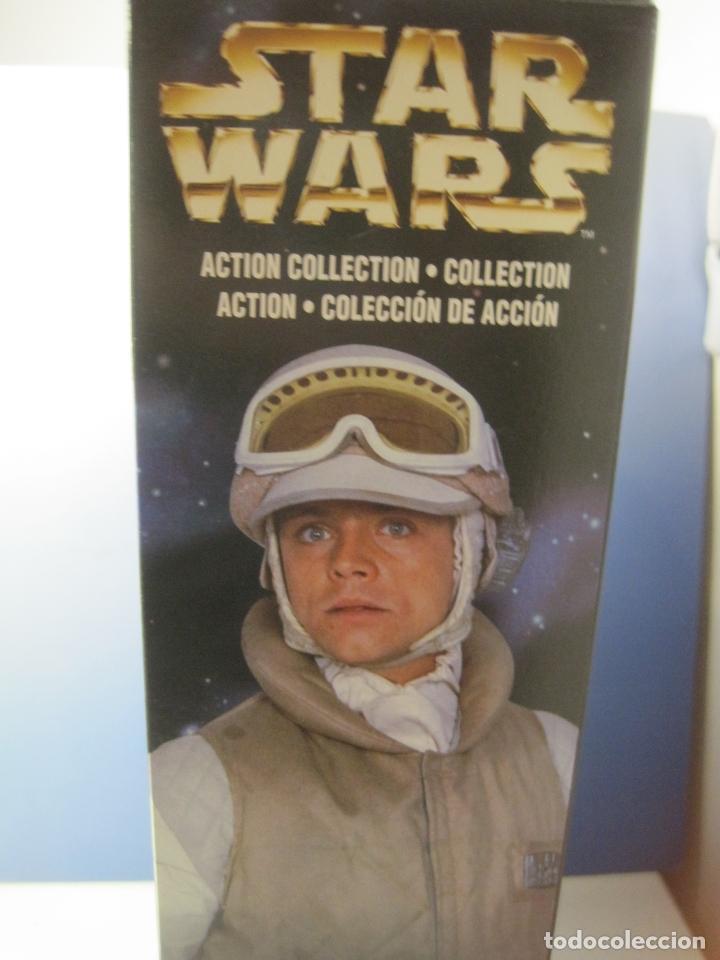 Figuras y Muñecos Star Wars: STAR WARS FIGURA DE LUKE SKYWALKER DE 12 PULGADAS (33 CM.) DE COLECCION HASBRO DE 1997 - Foto 12 - 151657037
