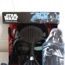 Figure e Bambolotti Star Wars: STAR WARS ROGUE ONE/DARTH VADER/CASCO DISTORSIONADOR DE VOZ/NUEVO¡¡¡¡¡¡¡¡¡¡¡. Lote 125821983