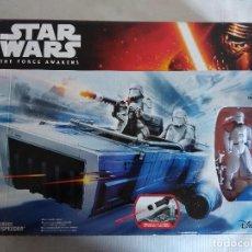 Figuras y Muñecos Star Wars: STAR WARS FIRST ORDER SNOWSPEEDER/NUEVO¡¡¡¡¡¡¡¡¡¡¡. Lote 125823067