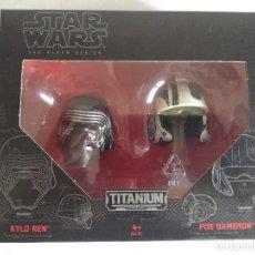 Figuras y Muñecos Star Wars: STAR WARS/KYLO REN-POE DAMERON/THE BLACK SERIES-TITANIUM/NUEVO¡¡¡¡¡¡¡¡¡¡¡. Lote 125920223