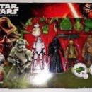 Figuras y Muñecos Star Wars: PACK STAR WARS, SET DE 5 FIGURAS # BB-8 - KYLO REN -CHEWBACCA - STORMTROOPER -RESISTANCE TROOPER #. Lote 125957963