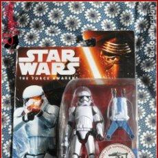 Figuras y Muñecos Star Wars: CI 25 STAR WARS HASBRO THE FORCE AWAKENS DESPERTAR FUERZA - FIRST ORDER STORMTROOPER B4172. Lote 125996731