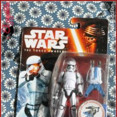CI 26 STAR WARS HASBRO THE FORCE AWAKENS DESPERTAR FUERZA - FIRST ORDER STORMTROOPER B4172