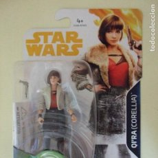 Figuras y Muñecos Star Wars: FIGURA QI´RA CORELLIA HAN SOLO A STAR WARS STORY DISNEY HASBRO EMILIA CLARKE QIRA 3,75 FORCE LINK. Lote 126095511