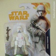 Figuras y Muñecos Star Wars: FIGURA RANGE TROOPER HAN SOLO A STAR WARS STORY DISNEY HASBRO SNOWTROOPER GUERRA LAS GALAXIAS 3,75. Lote 126095615