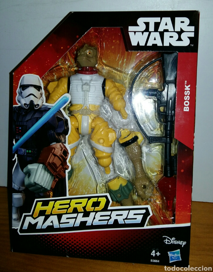 STAR WARS HERO MASHERS BOSSK. (Juguetes - Figuras de Acción - Star Wars)