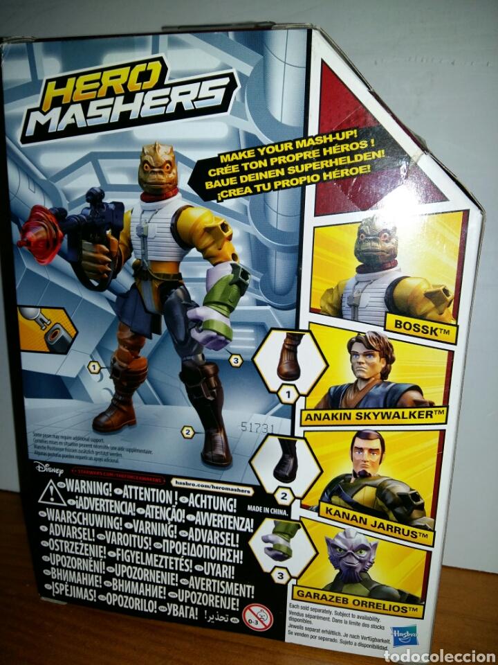 Figuras y Muñecos Star Wars: Star Wars Hero Mashers Bossk. - Foto 2 - 126437027