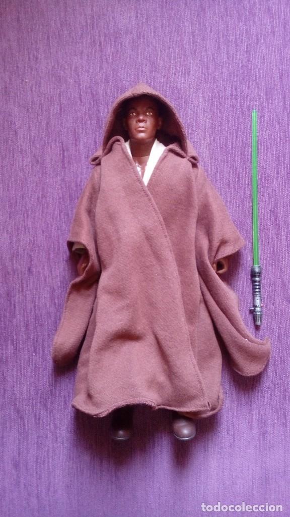 Figuras y Muñecos Star Wars: STAR WARS FIGURA MACE WINDU - Foto 2 - 126455763