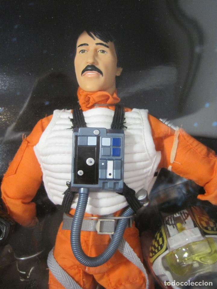 Figuras y Muñecos Star Wars: STAR WARS - WEDGE ANTILLES & BIGGS DARKLIGHTER PILOTOS REBELDES X-WING -30 CM- KENNER - 1998 EN CAJA - Foto 3 - 126779947