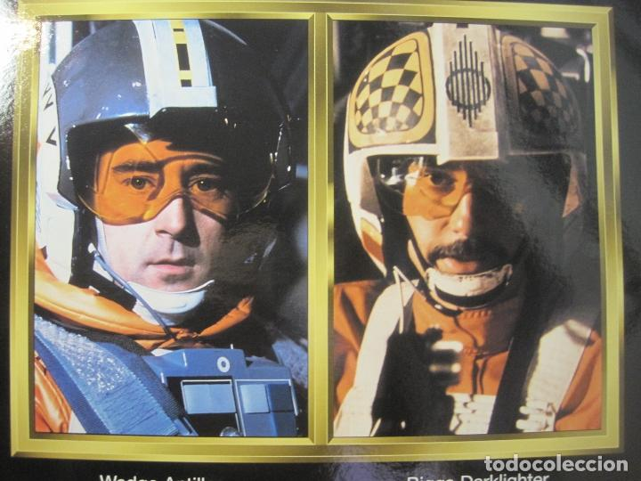 Figuras y Muñecos Star Wars: STAR WARS - WEDGE ANTILLES & BIGGS DARKLIGHTER PILOTOS REBELDES X-WING -30 CM- KENNER - 1998 EN CAJA - Foto 18 - 126779947