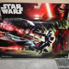 Figuras y Muñecos Star Wars: STAR WARS ELITE SPEEDER BIKE & BLACK STORMTROOPER. Lote 126800131