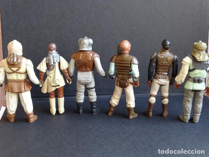 Figuras y Muñecos Star Wars: LOTE STAR WARS VINTAGE - LEIA BOUSHH - KLAATU - LANDO SKIFF - WEEQUAY - NIKTO - KLAATU SKIFF - ROTJ - Foto 3 - 126921795