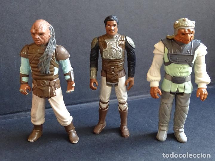 Figuras y Muñecos Star Wars: LOTE STAR WARS VINTAGE - LEIA BOUSHH - KLAATU - LANDO SKIFF - WEEQUAY - NIKTO - KLAATU SKIFF - ROTJ - Foto 5 - 126921795