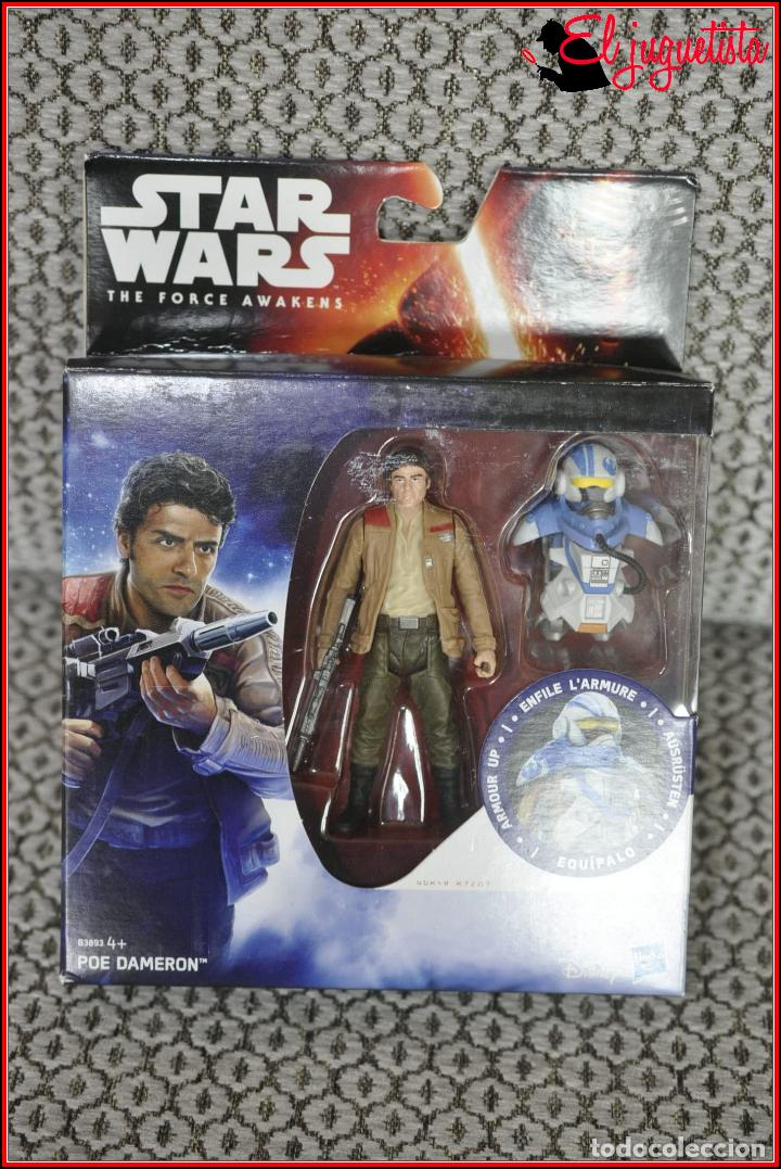 CI2 7 STAR WARS HASBRO THE FORCE AWAKENS - POE DAMERON (Juguetes - Figuras de Acción - Star Wars)