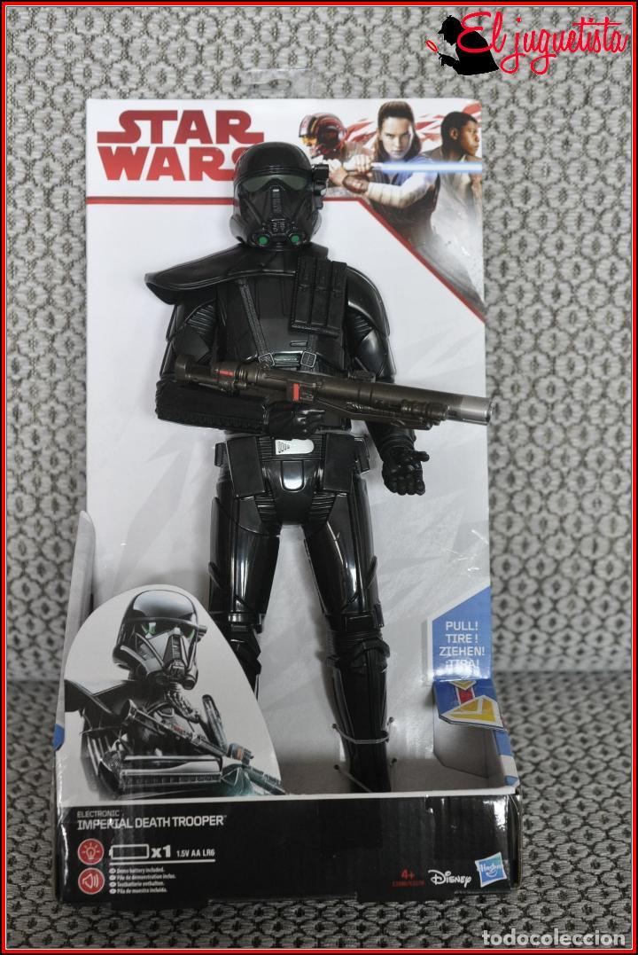CI 36 STAR WARS HASBRO LOS ÚLTIMOS JEDI - IMPERIAL DEATH TROOPER (Juguetes - Figuras de Acción - Star Wars)