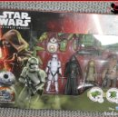 Figuras y Muñecos Star Wars: CI 53 STAR WARS THE FORCE AWAKENS - PACK BB-8 KYLO REN CHWBACCA STORMTROOPER RESISTANCE TROOPER. Lote 127368823