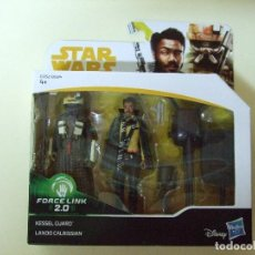 Figuras y Muñecos Star Wars: PACK FIGURA KESSEL GUARD + LANDO CALRISSIAN - HAN SOLO A STAR WARS STORY DISNEY HASBRO FIGURAS 3,75. Lote 127520735