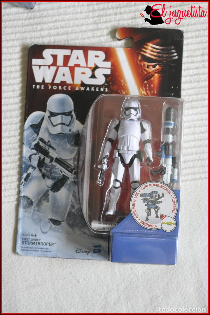 CI2 14 - STAR WARS HASBRO DISNEY THE FORCE AWAKENS - FIRST ORDER STORMTROOPER B3964 (Juguetes - Figuras de Acción - Star Wars)