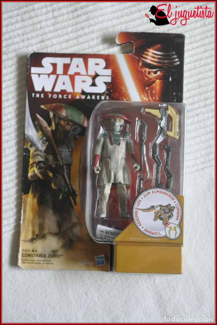 CI2 16 - STAR WARS HASBRO DISNEY THE FORCE AWAKENS - CONSTABLE ZUVIO B3968 (Juguetes - Figuras de Acción - Star Wars)
