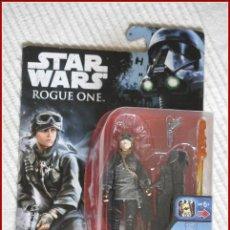 Figuras y Muñecos Star Wars: CI2 17 - STAR WARS HASBRO DISNEY ROGUE ONE - SERGEANT JYN ERSO EADU. Lote 128019943