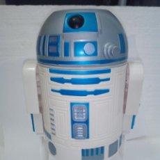 Figuras y Muñecos Star Wars: R2D2-KIT DE DESAYUNO-KELLOGG-.2005-STAR WARS EPISODE III-24CM-CON CUCHARA, PLATO,-. Lote 128278883