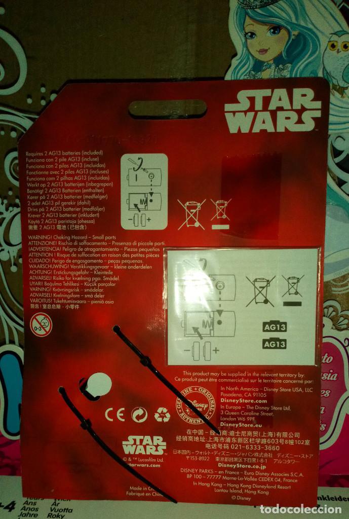 Figuras y Muñecos Star Wars: LLAVERO SABLE LASER STAR WARS KYLO REN - KEYCHAIN - DISNEY STORE - Foto 2 - 128433743