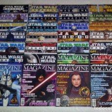 Figuras y Muñecos Star Wars: STAR WARS MAGAZINE LA REVISTA OFICIAL EN ESPAÑA COLECCION COMPLETA 28 REVISTAS. Lote 128881591