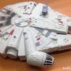 Figuras y Muñecos Star Wars: NAVE STAR WARS EL HALCON MILENARIO FABRICADO POR HASBRO SA. Lote 129090303